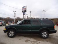 2002 CHEVROLET Blazer Four Wheel Drive, Front Tow