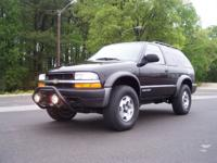 Options Included: 2002 Chevrolet S10 Blazer ZR2 4WD. It
