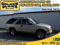 Options Included: N/AThis 2002 Chevrolet Blazer LS is a
