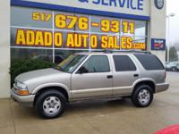 Options:  2002 Chevrolet Blazer Visit Adado Auto Sales