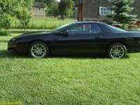 SLP. 35th Anniversary Camaro high gloss factory black