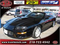 For a smoother ride, opt for this 2002 Chevrolet Camaro