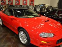 This 2002 Chevrolet Camaro 2dr 2dr Convertible Z28