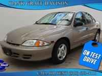 Introducing the 2002 Chevrolet Cavalier! This is a
