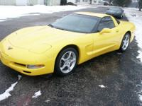 This is a nice 2002 Corvette. Goodyear F1s 75% tread.