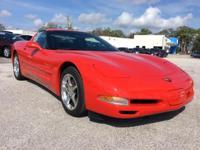 Excellent Condition, LOW MILES - 40,177! Corvette trim.