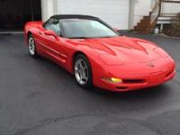 2002 Chevrolet Corvette C5 Convertible. Exceptional