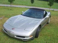 2002 CHEVROLET CORVETTE CONVERTIBLE WITH APPROX 89000