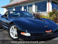 2-Owner 2002 Chevrolet Corvette with just 14k!!! This