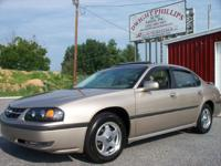 Options Included: This is a 1 Owner Impala that was