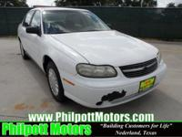 Options Included: N/A2002 Chevy Malibu, white with gray