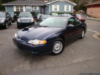 2002 Chevrolet Monte Carlo , Automatic , runs and