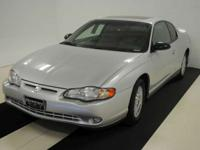 Options Included: Leather, Sunroof--2002 Chevy Monte