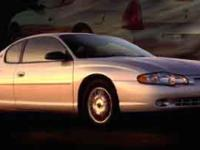 Options:  2002 Chevrolet Monte Carlo Ls|/|V6 3.4L