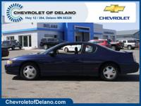 Monte Carlo SS, 2D Coupe, 3.8L V6 SFI, 4-Speed