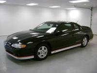 Options Included: N/ASS Coupe Dale Earnhardt Signature