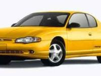 Options Included: N/A2002 Monte Carlo CC Coupe!! WOW