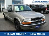 *DESIRABLE FEATURES:* * CLEAN TRADE *, LOW MILES, and