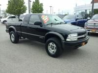 This outstanding example of a 2002 Chevrolet S-10 LS is