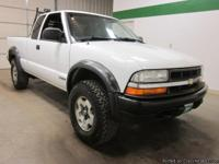2002 Chevrolet S10 4x4 V6 Automatic Extended Cab