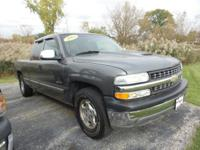 Extended cab, power steering and daytime running lights