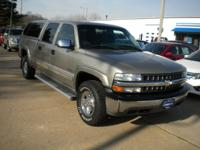 Options Included: N/AThis Pewter LS Crew Cab Is A 4x2