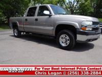This is one Sharp Chevy Silverado 2500 4x4 LT!! It was