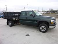 2002 Chevrolet Silverado 3500 Extended Cab Flat Bed