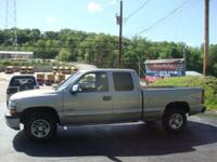 2002 CHEVROLET SILVERADO LS 4X4 EXTENDED CAB AUTOMATIC
