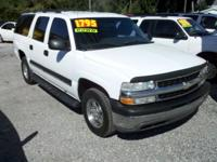 Options Included: N/ABeautiful 2002 white Suburban,
