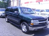 Options Included: $ 6,999.00 2002 SUBURBAN LT 4X4 3RD