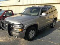 2002 Chevrolet Tahoe 4x4 Z71 Vin: 1GNEK13Z82R161931