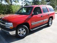Options Included: N/A2002 Chevrolet Tahoe LS 4x4 with
