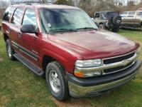 2002 Chevrolet Tahoe LS. Serving the Greencastle,
