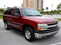 This 2002 Chevrolet Tahoe is offered to you for sale by