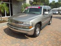 2002 Chevrolet Tahoe SUV LT Our Location is: ORR