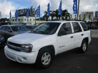 Options:  2002 Chevrolet Trailblazer Ls|Come And Visit