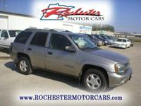 2002 Chevrolet TrailBlazer LS with 194,061 miles. This