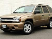 This 2002 Chevrolet TrailBlazer 4dr 4dr 4WD LS 4x4 SUV