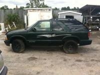 STOCK # I14344     I AM PARTING THIS 2002 CHEVY BLAZER