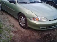 I am parting this 2002cavalier has suspension and body