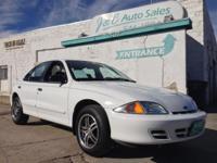 For sale! 2002 Chevrolet Cavalier sedan 4 cylinder