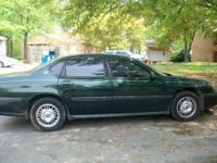 I have a 2002 Hunter Green Chevy Impala Great
