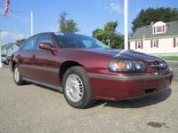 EXTRA CLEAN 2002 Chevy Impala. It looks like this sedan