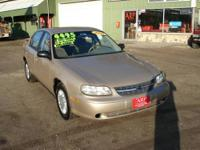 2002 Chevy Malibu, The engine runs great, fresh tune