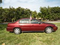 2002 Chevrolet Malibu Base Sellers Notes STOP AND TURN