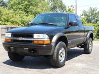 This is a very 2002 Chevrolet S-10 Extended Cab LS with