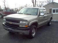 2002 CHEVY SILVERADO 2500 HD LS EXTENDED CAB, 8 FT.