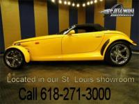 2002 Chrysler Prowler convertible up for grabs. This