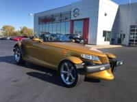 Spotless, ONLY 8,560 Miles! Inca Gold Pearl with Black